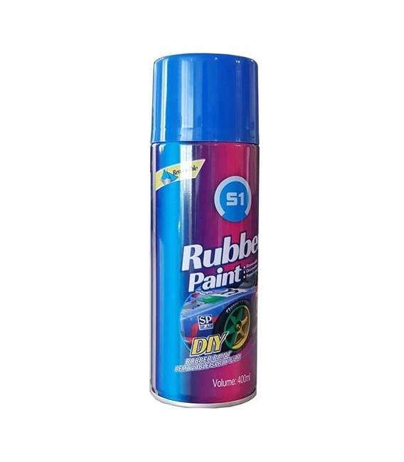 اسپری رنگ پلاستیک رینگ مشکی مات Rubbery paint