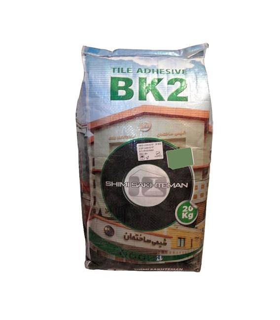 چسب سرامیک و کاشی پودری شیمی ساختمان فرکوتایل BK2