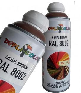 اسپری رنگ قهوه ای رال 8002 دوپلی کالر Dupli-Color