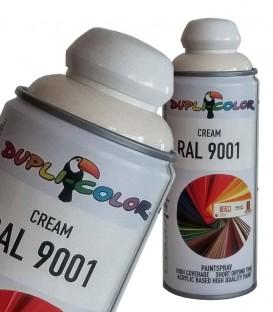 اسپری رنگ کرم RAL 9001 حجم 400 رنگ اکریلیک دوپلی کالر