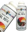 اسپری رنگ سفید یخچالی RAL 9016 دوپلی کالر
