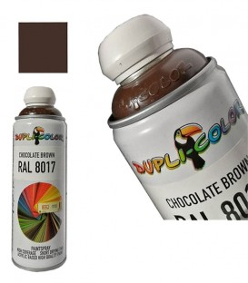 اسپری رنگ قهوه ای شکلاتی دوپلی کالر RAL8017