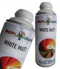 اسپری رنگ سفید مات اکریلیک دوپلی کالر WHITE MATT