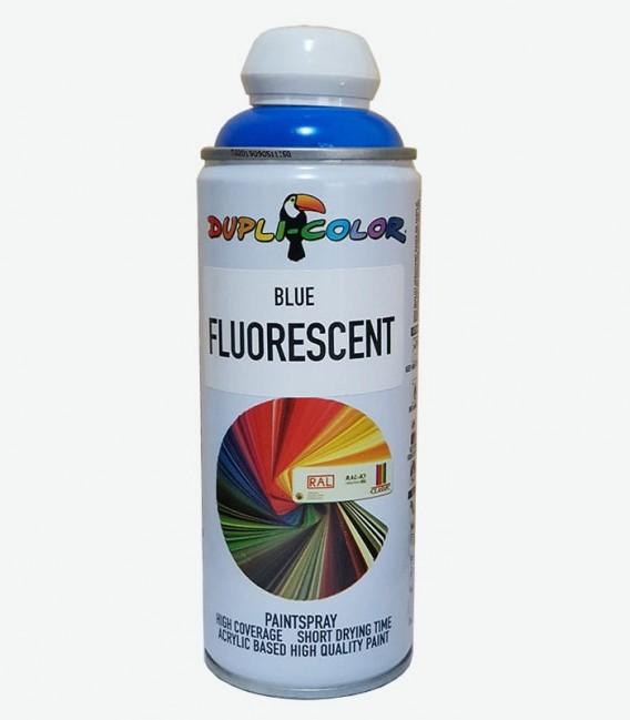 اسپری رنگ آبی فلورسنت دوپلی کالر Blue Fluorescent