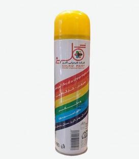 اسپری رنگ زرد گلریز 300 میل رنگ روغنی فروشگاه اینترنتی ابزارما