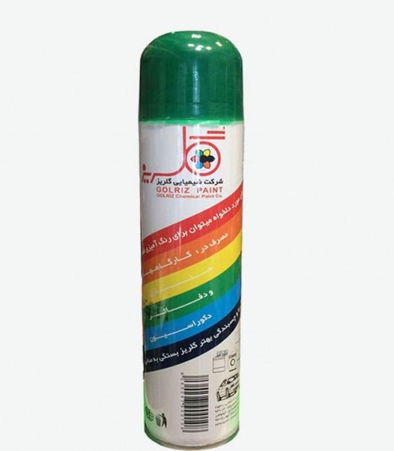 اسپری رنگ سبز گلریز 300 میل رنگ روغنی فروشگاه اینترنتی ابزارما