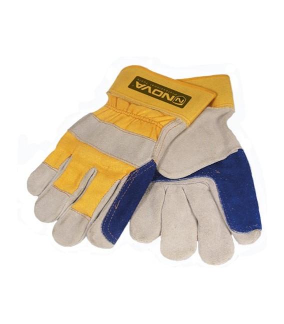 دستکش چرمی کف دوبل NOVA