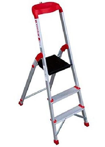 نردبان سه پله آلومینیومی مدل آریانا آلوم راد پله