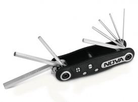 آچار آلن چاقویی شش گوش 8 عددی مدل NTK1141 نووا NOVA