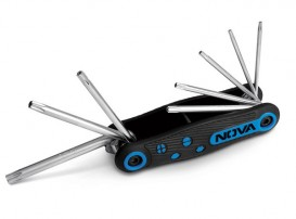 آچار آلن چاقویی ستاره ای 8 عددی مدل NTK1140 نووا NOVA