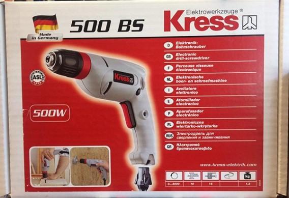 دریل برقی کرس مدل 500BS KRESS