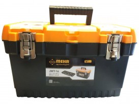 جعبه ابزار 16 اینچ با قفل فلزی mehr مدل JMT 16
