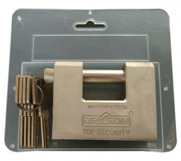 قفل کتابی 85 ضدبرش تمام فولاد DEKSON