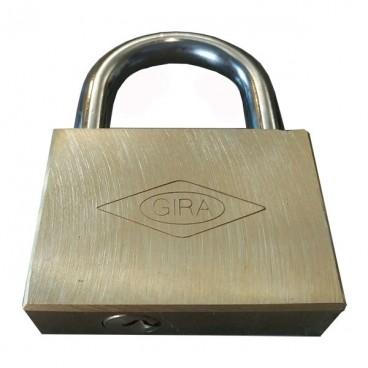 قفل آویز برنجی گیرا 60