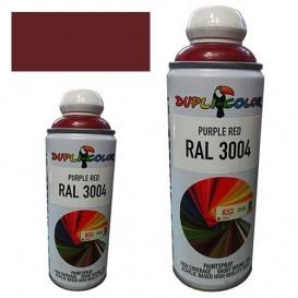 اسپری رنگ ارغوانی RAL 3004 حجم 400 رنگ اکریلیک دوپلی کالر