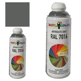 اسپری رنگ ذغالی RAL 7016 حجم 400 رنگ اکریلیک دوپلی کالر