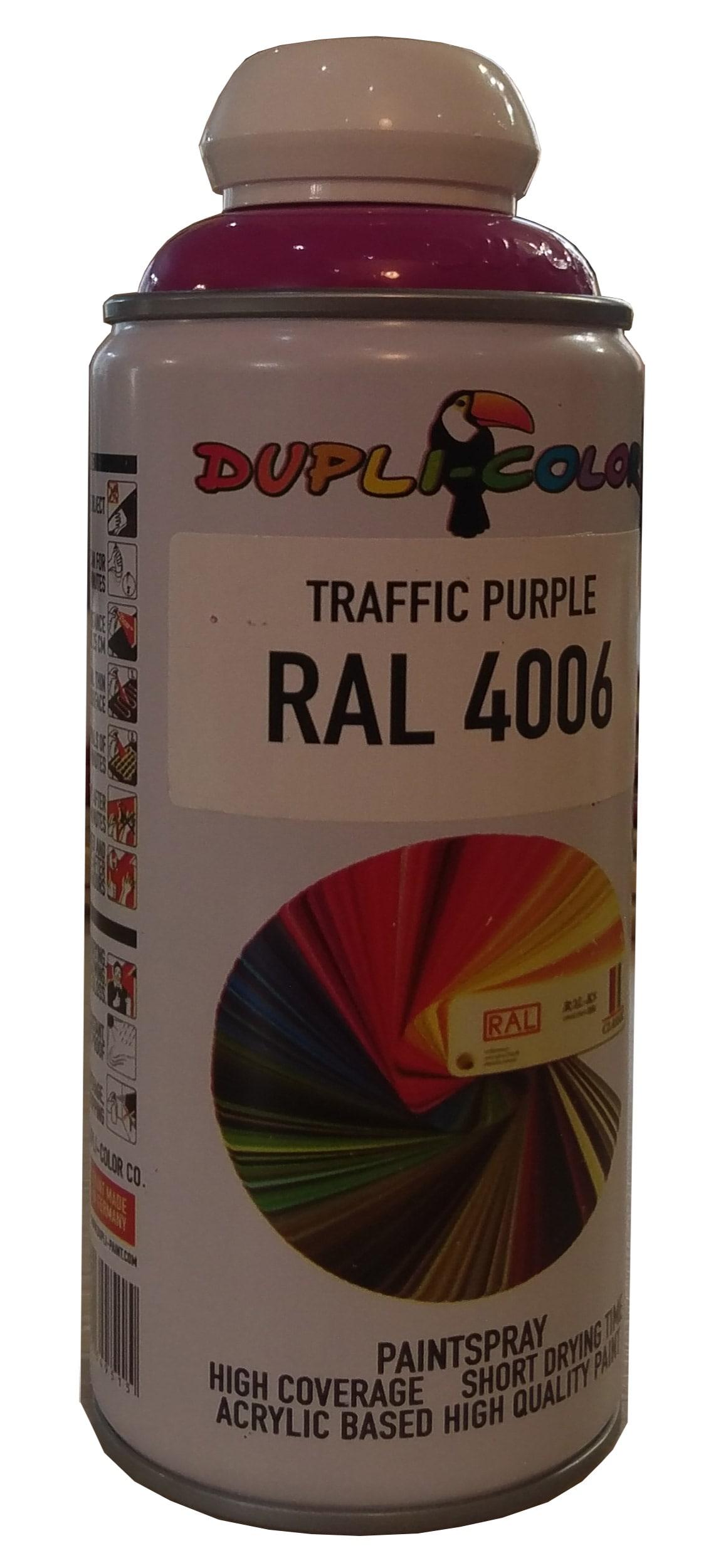 اسپری رنگ بنفش ترافیکی رال 4006